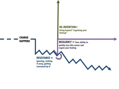 Resistance Resiliency Reinvention Model